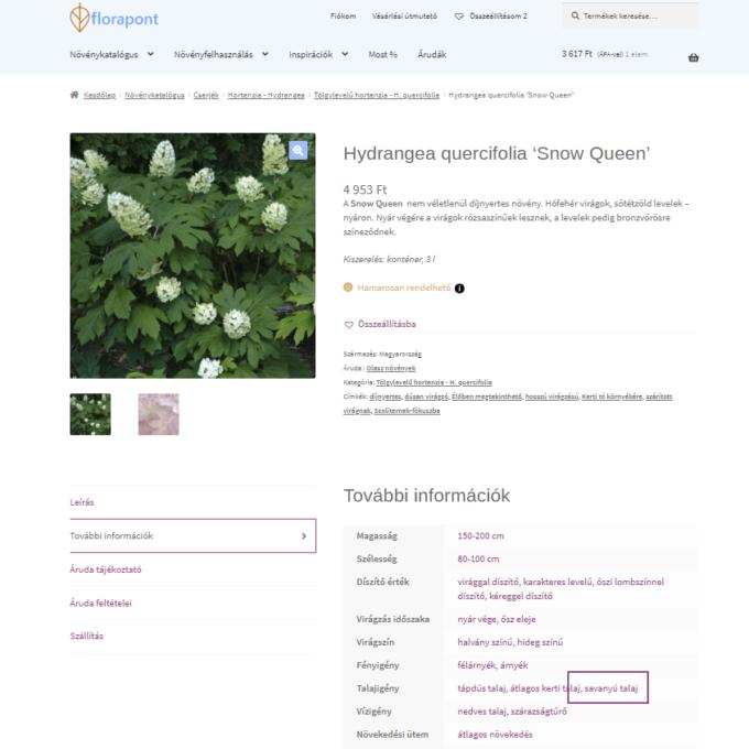 növények talajigényei