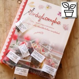 Ehető virágok könyv és virágmag egyben a Florapont kínálatában
