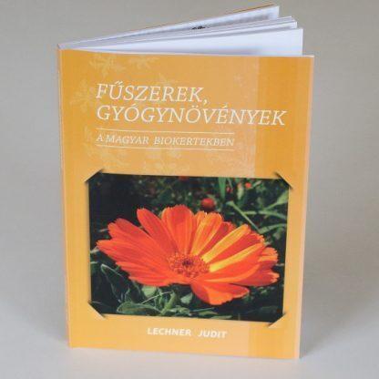 Fűszerek gyógynövények kertészeti könyv borító - biokertészeti szakkönyv